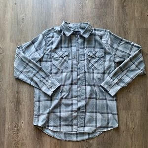 Hurley Nike Dri fit flannel